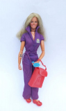 Bionic woman doll  with mission purse