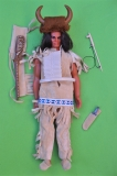 Big Jim doll Karl May Bloody Fox in Medicine Man outfit