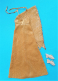 Bionic Woman outfit Gold Dust dress