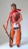 Lone Ranger doll A Red Sleeves in Gun Runners outfit
