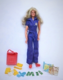 Bionic man woman doll with mission purse and most accessories 1