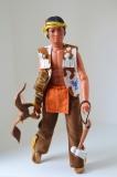 Lone Ranger doll A Little bear, complete