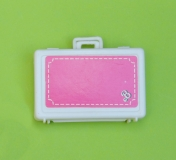 Barbie 1984 Day to Night suitcase