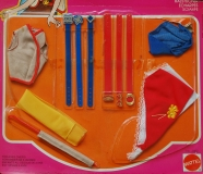 Barbie 1978 PACK Fashion Add-Ons #2462 Finishing Touches, 'Scarfs and such'