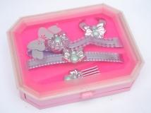 Barbie 1986 jewelry Secret Jewelry set