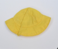 Barbie 1960s yellow hat, unknown outfit