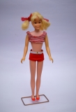 skipper doll 1966 Skooter doll blonde in oriignal swimsuit 1