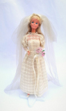 Barbie doll 1977 Superstar Bride