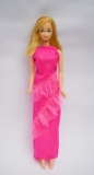 Barbie doll 1974 #8587 Steffie  mold standard Europe straight leg, wearing 1976 Best Buy dress #2223
