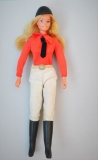 Barbie doll 1977 Equestrienne Superstar variation, European exclusive