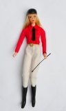 Barbie doll 1977 Equestrienne DUBBEL CHECK European Exclusive, perfect, with riding stick