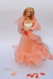 Barbie doll 1983 Peaches n Cream Superstar