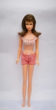 Barbie doll 1966 Francie doll straight leg in original swimsuit 1