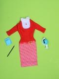 Barbie outfit 1965 #1622 Student Teacher