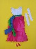 Barbie outfit 1965 #1638 Fraternity Dance, white gloves, ot