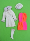 Barbie outfit 1969 #1491 Red, White n' Warm