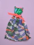 Barbie outfit 1970 #1798 Rainbow Wraps, dress
