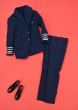 Ken outfit 1964 #779 American Airlines Captain, pants, jacket, shoes