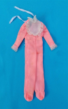 Skipper outfit 1975 #7220 pink sleepers, some wear