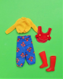 Skipper outfit 1972 #3291 Nifty Knickers,