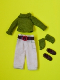 Tutti Todd outfit 1975 #7974 Polo and shirt, with htf green socks