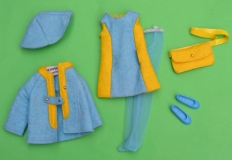 Skipper outfit 1971 #3476 All over Felt