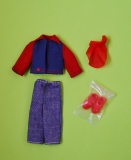 Tutti Todd outfit 1975 #7973 Elegant, jeans and jacket
