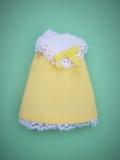 Tutti outfit #8128 European version yellow dress