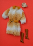 Barbie outfit 1971 #3434 Fun Fur