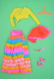 Barbie outfit 1971 #3492 Flying Colors