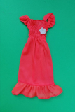 Barbie outfit 1974 #7814 salmon dress