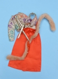 Barbie outfit 1974 #7843, salmon party dressss