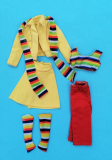 Barbie outfit 1975 #7242 Busy Get Going,