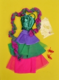 Barbie outfit 1978 #2482 Bright Bedazzling Charmer