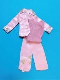Barbie outfit 1977 #9824 Satin n Shin