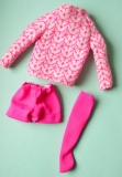 Francie outfit 1972 #3275 Little Knits, perfect, one sock (slippers for sale in shoe department)