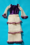 Barbie outfit 1977 #9817 Osmond Deepest Purple