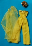 Barbie outfit 1978 #2480 Sunny Yellow Shine for Nighttime