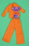 Barbie outfit 1973 #3208, from play lot, but very minor playwear, excellent