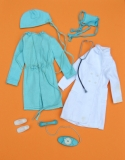 Barbie outfit 1973 #7700 Doctor Get Ups n Go