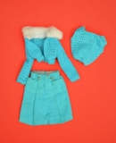 Barbie outfit 1974 #7752 Blue suit