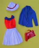 Barbie outfit 1975 #7244 Olympics Set Get Ups N Go parts