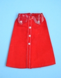 Barbie outfit 1975 #7422 red skirt