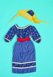 Barbie outfit 1978 #2561 black peasant dress