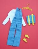 Francie outfit 1972 #3281 Cool Coveralls