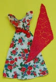 Barbie outfit 1976 9160, with red scarf