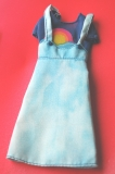 Barbie outfit 1977 9621 Clouds and rainbows