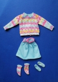 Barbie outfit 1984 #7918 My First Easy on Fashions