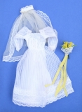 Barbie outfit 1980 #1416 Wedding Fashions Here comes the Bride