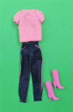 Barbie outfit 1981 Jeans doll